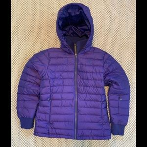 The North Face goose down 600 warm purple L